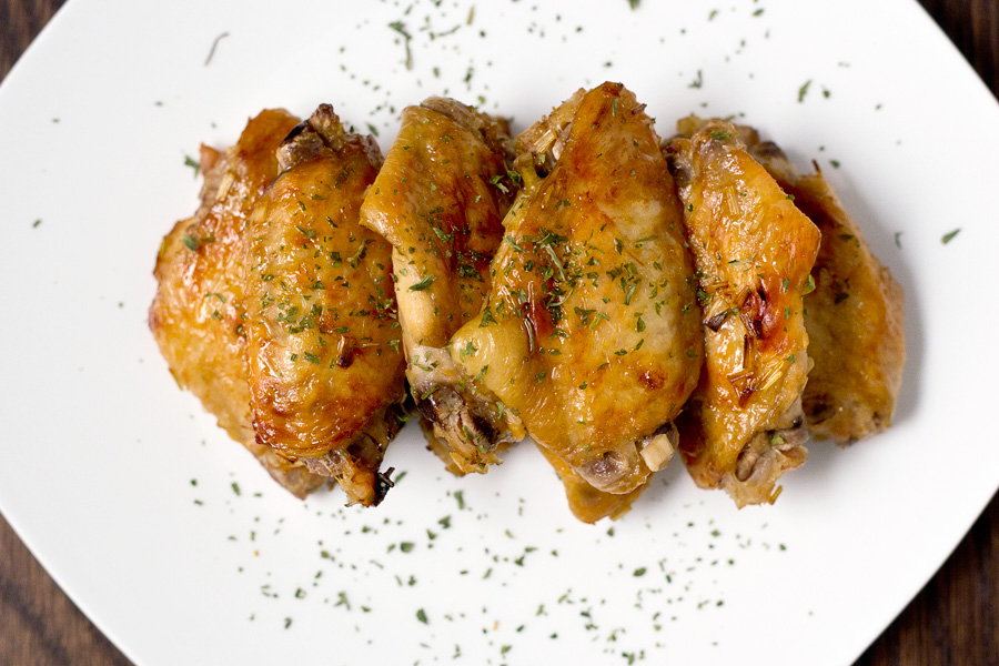 lemongrass chicken wings recipe