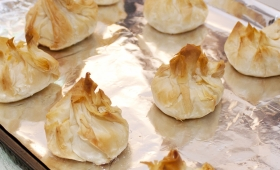 Easy Shrimp Pastry Pouches