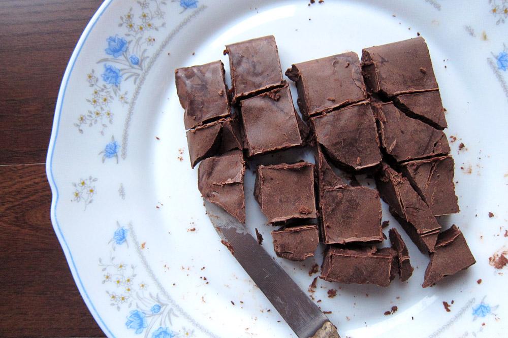 ganache slab how to make chocolate truffles