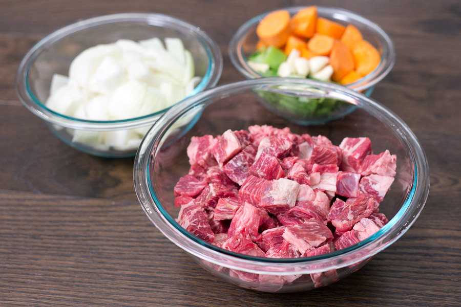 beef stew recipe ingredients